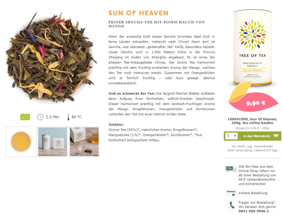 Ein Produkttext von Tree-of-tea.de