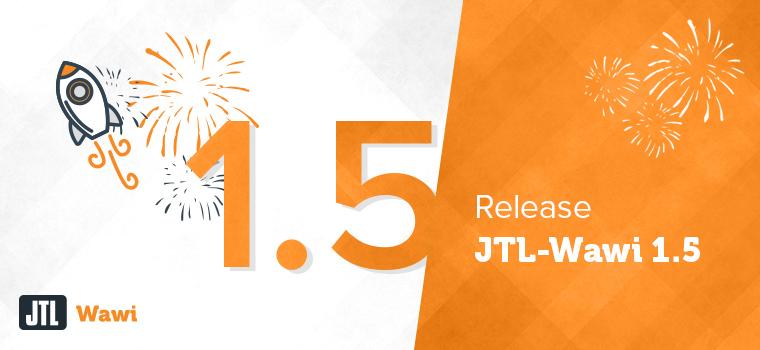 Das Logo von JTL Wawi 1.5