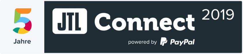 Logo JTL Connect 2019 Jubiläum 5 Jahre