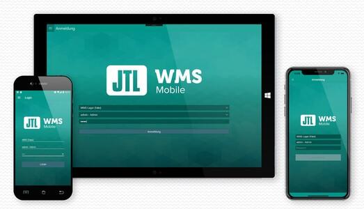Das Logo von JTL-WMS Mobile