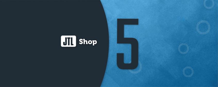 JTL-Shop 5 Logo Banner